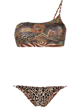 Anjuna Reversible One Shoulder Bikini