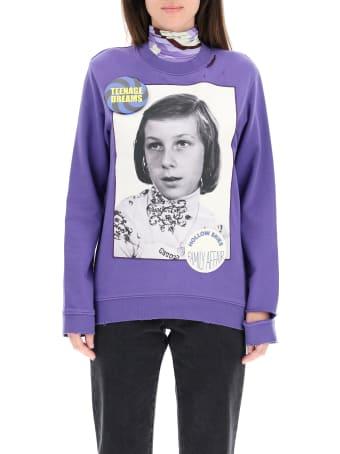 Raf Simons Sweatshirt With Girl Patch