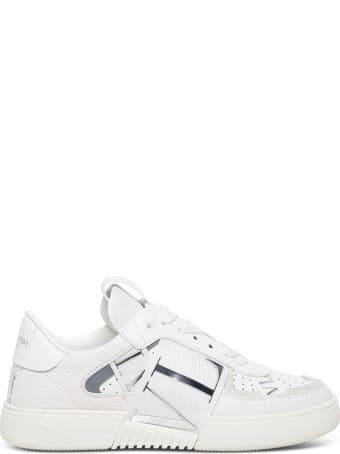 Valentino Garavani Vltn White Leather Sneakers