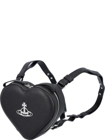 Vivienne Westwood Johanna Heart Mini Backpack