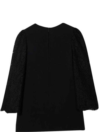 Dolce & Gabbana Girl Black Dress