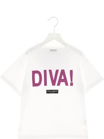 Dolce & Gabbana 'diva' T-shirt