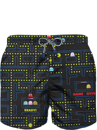MC2 Saint Barth Action Pacman© Boy Light Swim Trunks