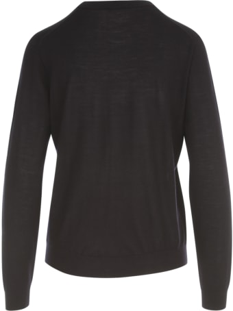 PS by Paul Smith Embroidered Hearts Crew Neck L/s Sweater