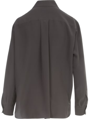 Aspesi Silk Shirt W/two Pockets