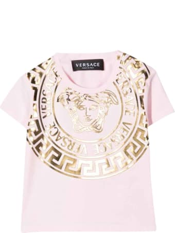 Versace Young Baby Pink T-shirt