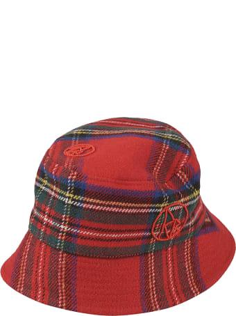Ruslan Baginskiy Tartan Logo Bucket Hat