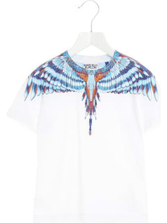 Marcelo Burlon 'blue Bird Wings'  T-shirt