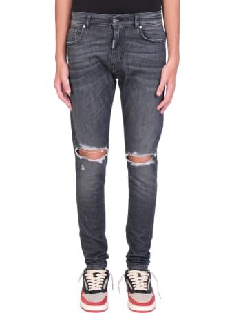 REPRESENT Destroyer Jeans In Black Denim