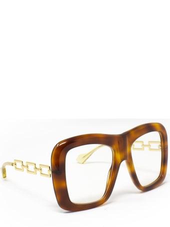 Gucci Gucci Gg0499s Havana Sunglasses