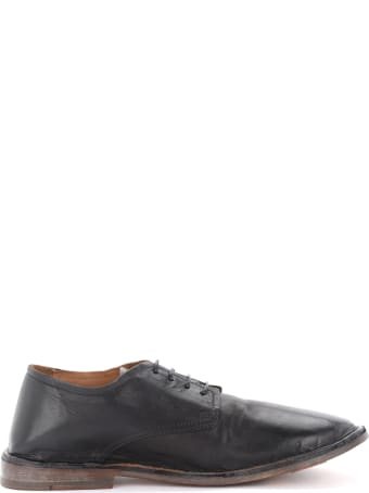 Moma Lace-up In Black Leather