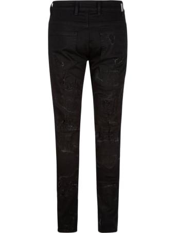 REPRESENT Shredded Denim Jeans