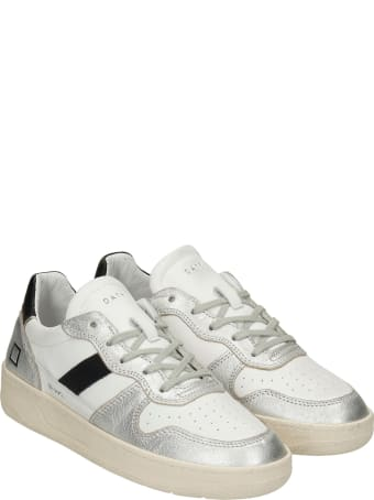D.A.T.E. Court 2.0 Sneakers In White Leather