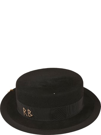 Ruslan Baginskiy Logo Embellished Hat