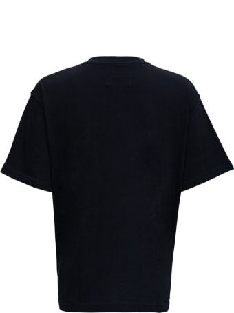 A-COLD-WALL Black Jersey T-shirt With Logo