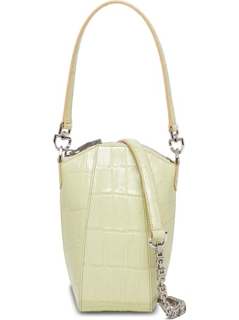 Givenchy Antigona Vertical Crossbody Bag In Crocodile Print Leather
