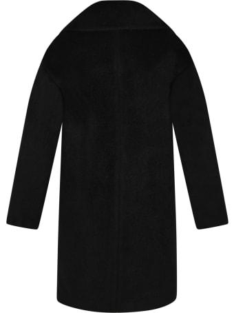 Armani Collezioni Black Coat For Kids