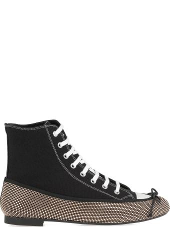 Marco de Vincenzo Sneaker Ballerina Hybrid Boots