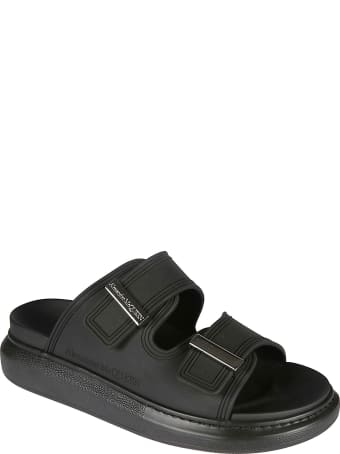 Alexander McQueen Double-strap Logo Sandals