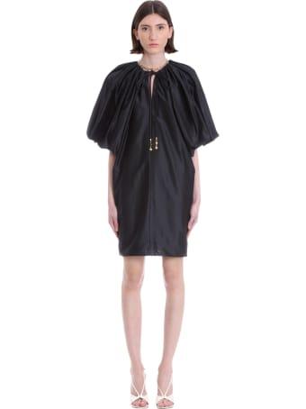 Lanvin Dress In Black Polyester