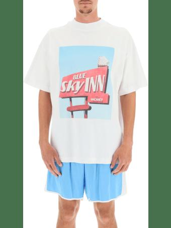 Blue Sky Inn Sign T-shirt