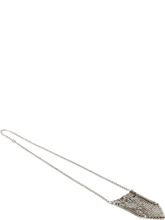 Paco Rabanne Perforated Chain Necklace
