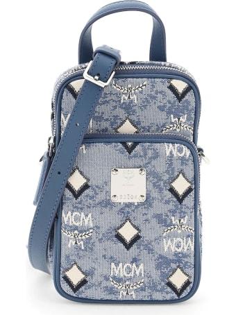 MCM N/s Crossbody Bag In Vintage Monogram Jacquard