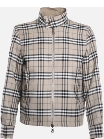 Burberry Reversible Jacket With All-over Vintage Check Pattern