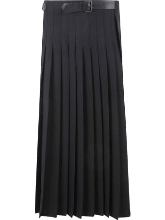 Philosophy di Lorenzo Serafini Belted Waist Pleated Skirt