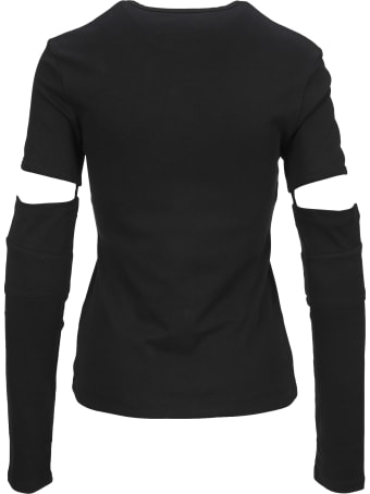 Helmut Lang Tee Removable Sleeve