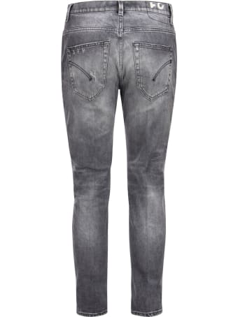 Dondup Brighton - Carrot Fit Jeans With Rips