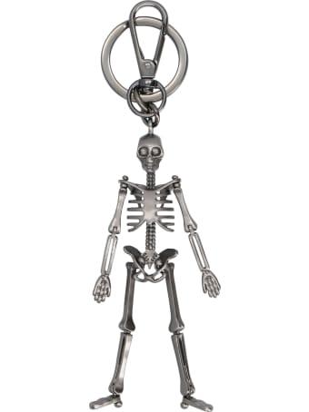 Alexander McQueen 'skeleton' Keyring