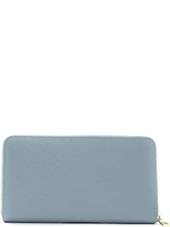 Avenue 67 Light Blue Leather Wallet
