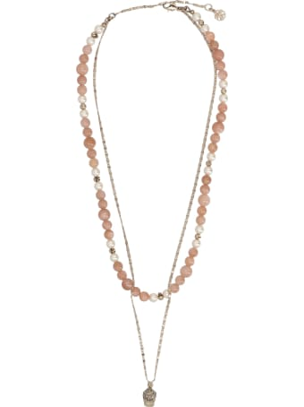 Alexander McQueen 'beads Double' Necklace