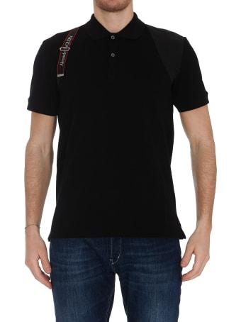 Alexander McQueen Harness Polo T-shirt