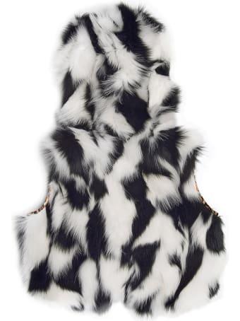 Mr & Mrs Italy Reversible Waistcoat Minissimo - Dalmatian