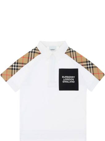 Burberry Polo Shirt For Boy