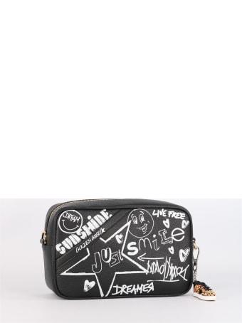Golden Goose Star Bag With Graffiti Print
