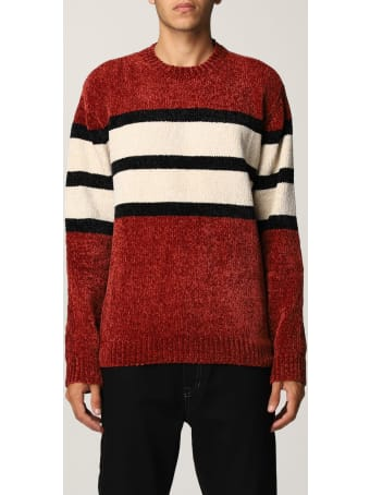 Emporio Armani Sweater Emporio Armani Sweater In Color Block Terry