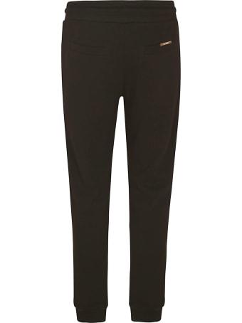 Les Hommes Rib Detail Zipped Pocket Track Pants