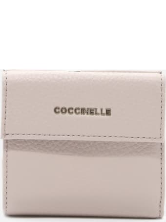 Coccinelle Metallic Soft Leather Wallet