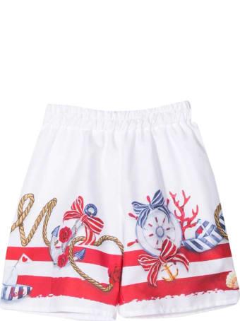 Monnalisa Patterned Shorts