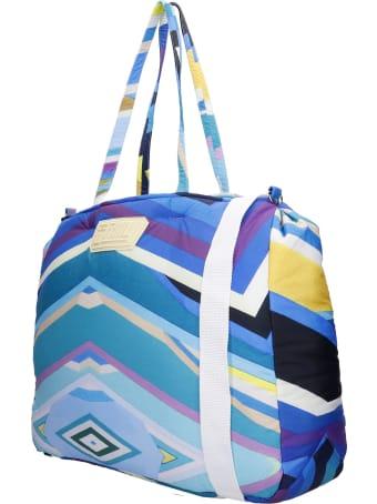Formy Studio Shoulder Bag In Blue Polyester