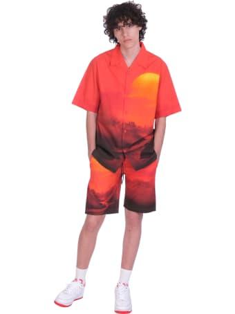 Maharishi Shorts In Multicolor Cotton