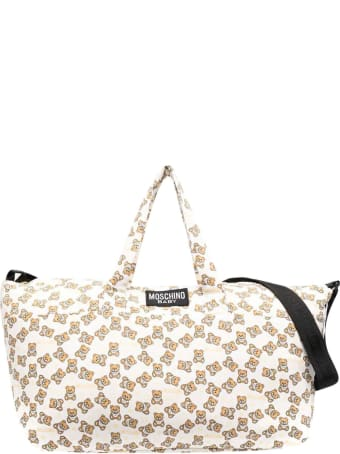 Moschino White Changing Bag