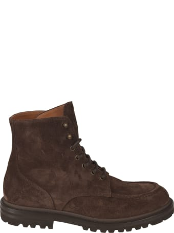 Brunello Cucinelli Classic Lace-up Boots