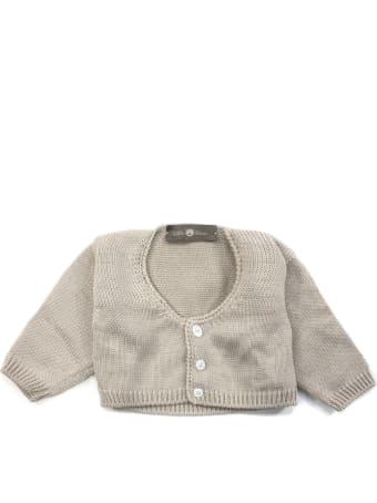Little Bear Beige Cotton Cardigan