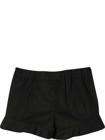 Moschino Black Shorts With Logo