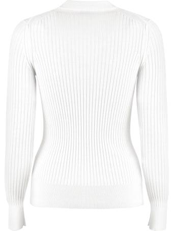 Moncler Ribbed Virgin-wool Sweater