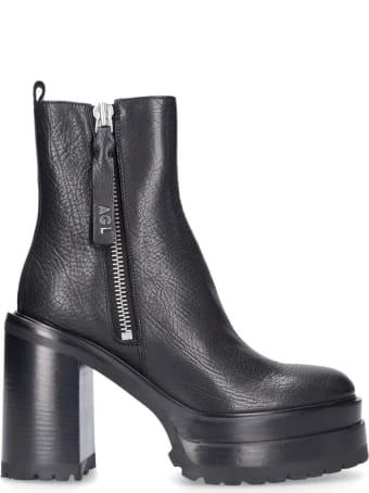Attilio Giusti Leombruni Agl Leather Tora Ankle Boots